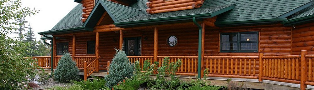 Timberline Log Siding Corners