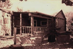 Remodel with log siding and Timberline log corners on cabin in the country