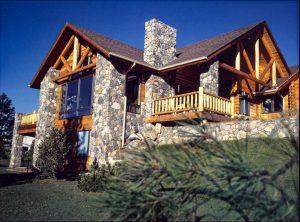 Timberline Log siding exterior & interior