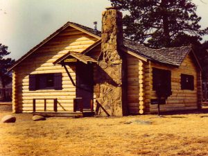 Remodel with log siding and Timberline log corners on cabin in Estes Park Colo