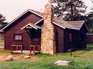 Remodel with log siding and Timberline log corners on rental cabin in Estes Park