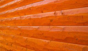 Hand Hewn log siding