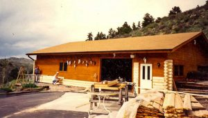 Remodel with log siding and Timberline log corners in the mountains above Ft. Collins CO