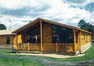 Modular log rental in Estes Park